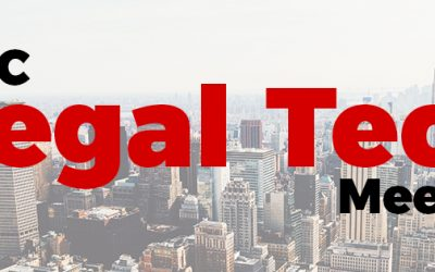 Announcing:  The NYC Legal Tech Meetup