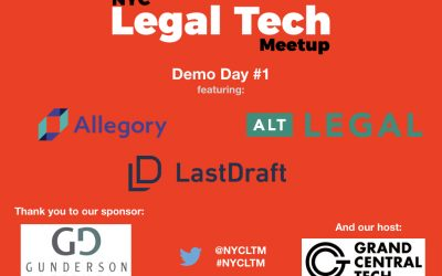 Demo Day #1 Recap